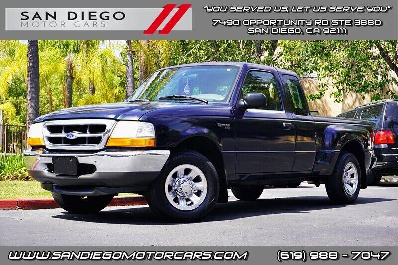 2000 Ford Ranger for sale at San Diego Motor Cars LLC in San Diego CA
