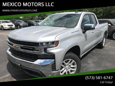 2020 Chevrolet Silverado 1500 for sale at MEXICO MOTORS LLC in Mexico MO