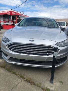 2018 Ford Fusion Hybrid for sale at Brand Motors llc - Belmont Lot in Belmont CA