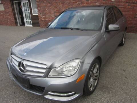 2012 Mercedes-Benz C-Class for sale at Tewksbury Used Cars in Tewksbury MA