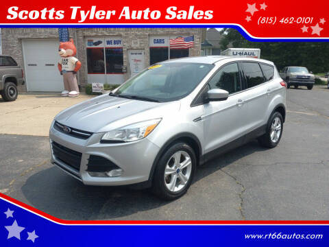 2015 Ford Escape for sale at Scotts Tyler Auto Sales in Wilmington IL