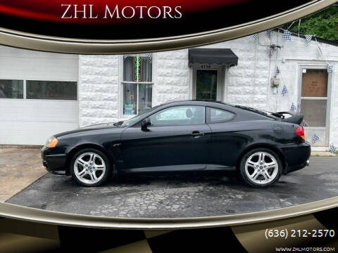 2003 Hyundai Tiburon for sale at ZHL Motors in House Springs MO