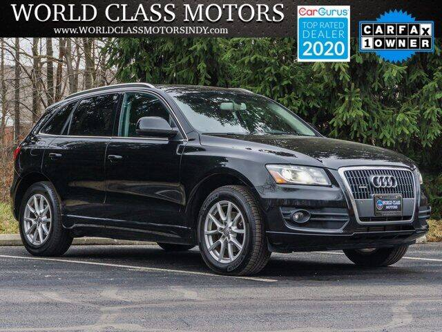 2012 Audi Q5 for sale at World Class Motors LLC in Noblesville IN
