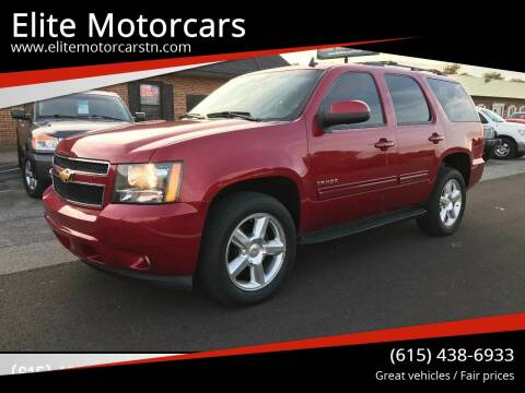 2013 Chevrolet Tahoe for sale at Elite Motorcars in Smyrna TN