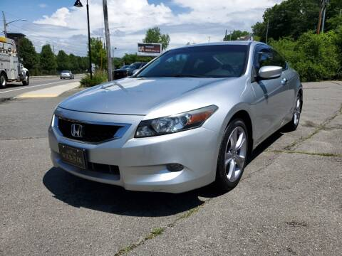 2008 Honda Accord for sale at WEB NIK Motors in Fitchburg MA