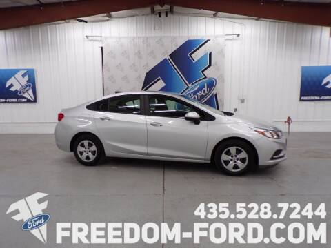 2016 Chevrolet Cruze for sale at Freedom Ford Inc in Gunnison UT
