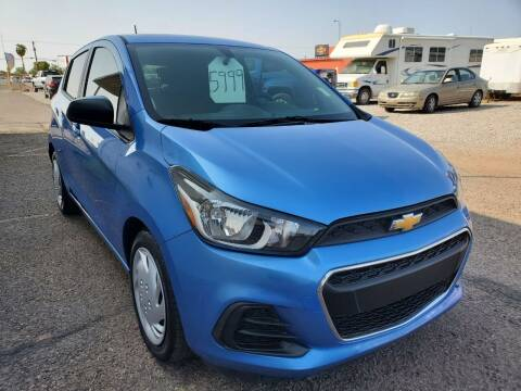 2016 Chevrolet Spark for sale at AZ Auto and Equipment Sales in Mesa AZ