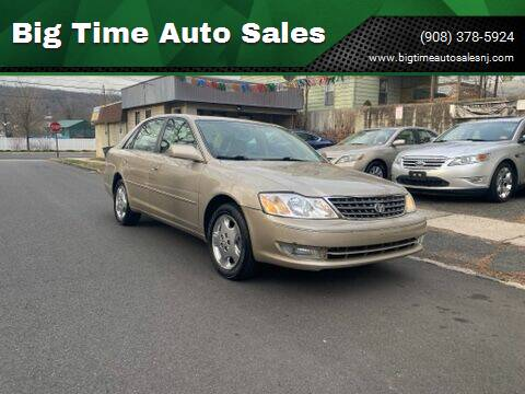 2004 Toyota Avalon for sale at Big Time Auto Sales in Vauxhall NJ