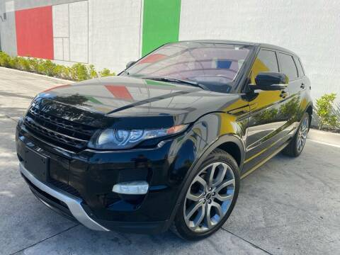 2012 Land Rover Range Rover Evoque for sale at Auto Beast in Fort Lauderdale FL