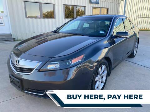 2012 Acura TL for sale at GRG Auto Plex in Houston TX