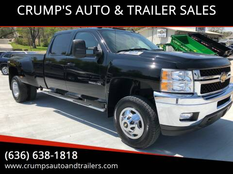 2011 Chevrolet Silverado 3500HD for sale at CRUMP'S AUTO & TRAILER SALES in Crystal City MO