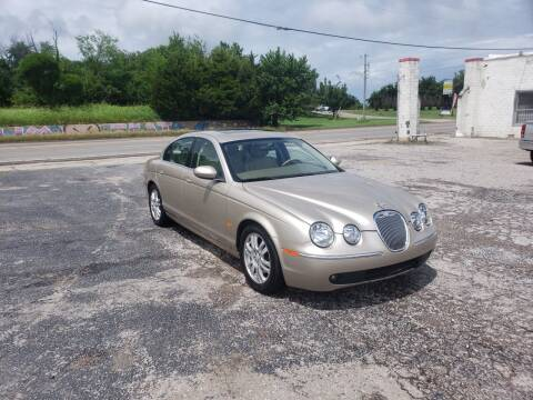 2005 Jaguar S-Type for sale at NOTE CITY AUTO SALES in Oklahoma City OK