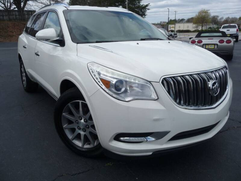 2015 Buick Enclave for sale at Wade Hampton Auto Mart in Greer SC