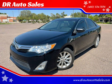 2012 Toyota Camry for sale at DR Auto Sales in Scottsdale AZ