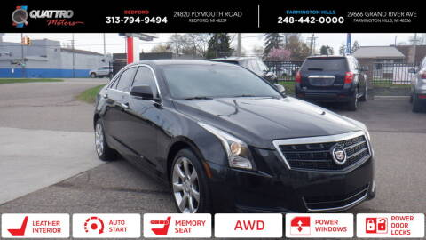 2014 Cadillac ATS for sale at Quattro Motors 2 in Farmington Hills MI