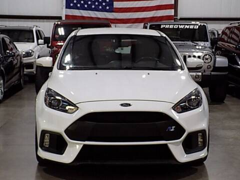 2016 Ford Focus for sale at Texas Motor Sport in Houston TX