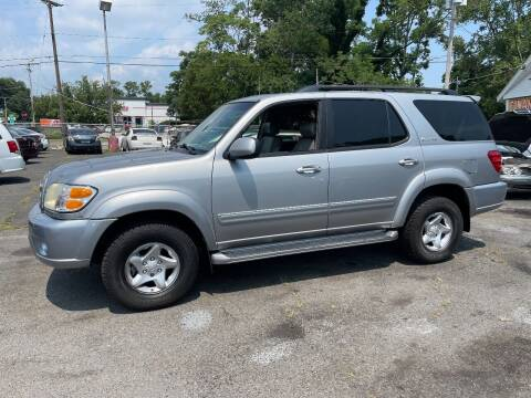 2002 Toyota Sequoia for sale at Affordable Auto Detailing & Sales in Neptune NJ