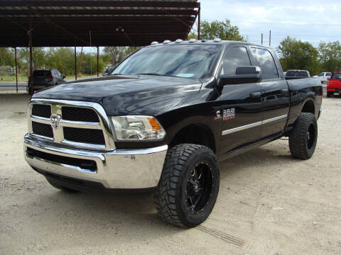 2013 RAM Ram Pickup 2500 for sale at Texas Truck Deals in Corsicana TX