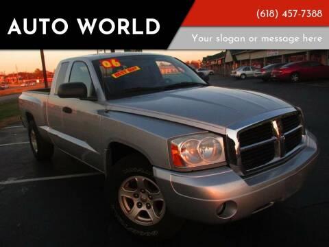 2006 Dodge Dakota for sale at Auto World in Carbondale IL