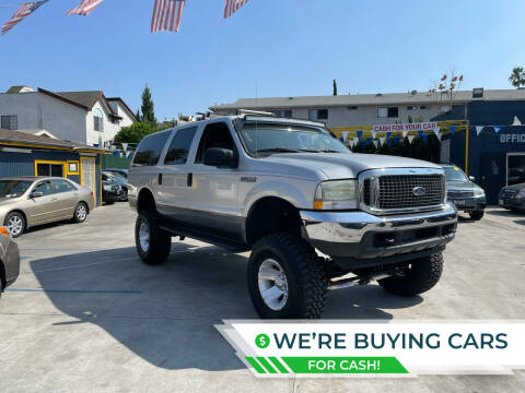 2004 Ford Excursion for sale at FJ Auto Sales North Hollywood in North Hollywood CA