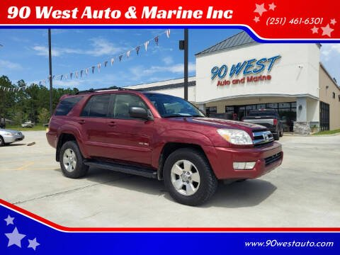 2005 Toyota 4Runner for sale at 90 West Auto & Marine Inc in Mobile AL