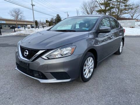 2019 Nissan Sentra for sale at M4 Motorsports in Kutztown PA