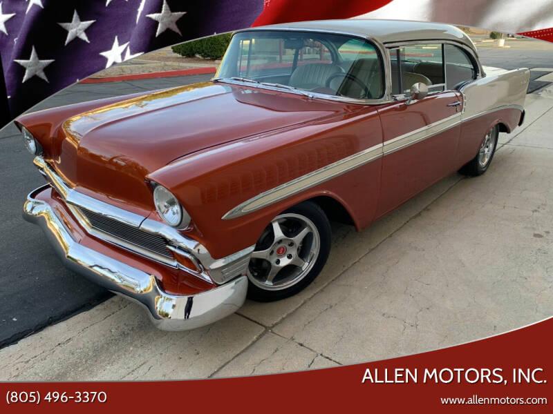 1956 Chevrolet Bel Air for sale at Allen Motors, Inc. in Thousand Oaks CA
