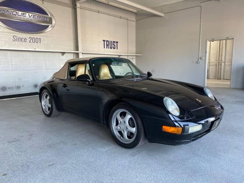 1995 Porsche 911 for sale at TANQUE VERDE MOTORS in Tucson AZ