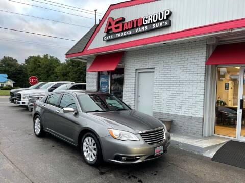 2013 Chrysler 200 for sale at AG AUTOGROUP in Vineland NJ