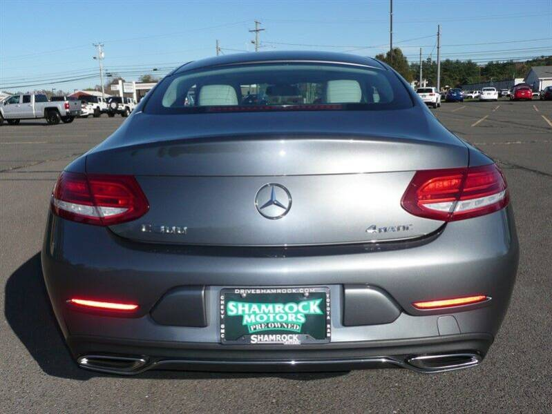 2017 Mercedes-Benz C-Class AWD C 300 4MATIC 2dr Coupe - East Windsor CT