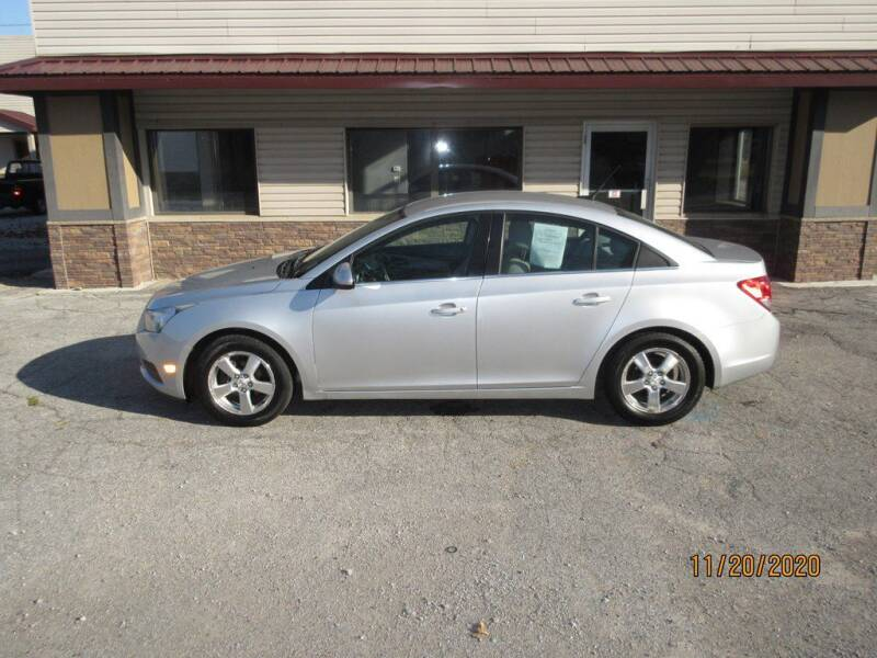 2013 Chevrolet Cruze for sale at Settle Auto Sales TAYLOR ST. in Fort Wayne IN