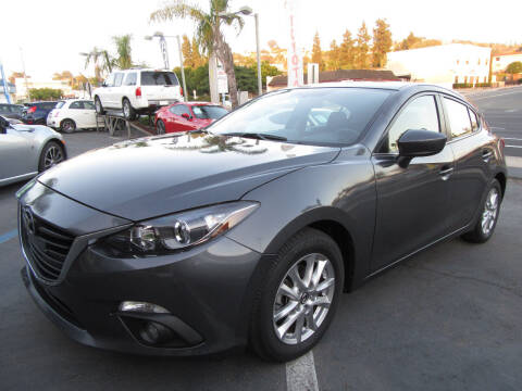 2016 Mazda MAZDA3 for sale at Eagle Auto in La Mesa CA