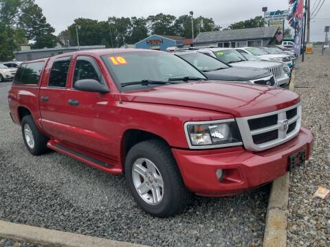 2010 Dodge Dakota for sale at CANDOR INC in Toms River NJ