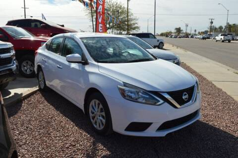 2018 Nissan Sentra for sale at A AND A AUTO SALES in Gadsden AZ