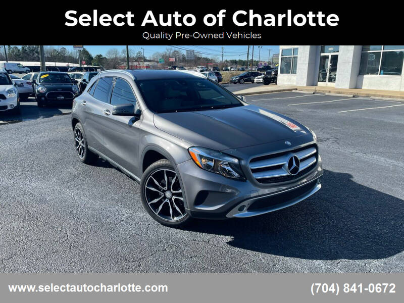 2016 Mercedes-Benz GLA for sale at Select Auto of Charlotte in Matthews NC