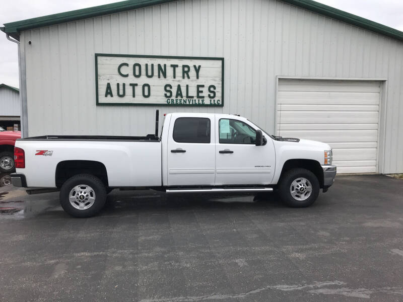 2014 Chevrolet Silverado 2500HD for sale at COUNTRY AUTO SALES LLC in Greenville OH