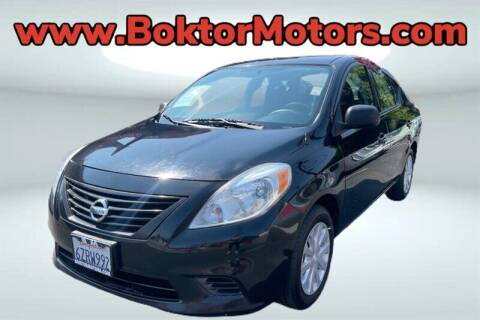 2014 Nissan Versa for sale at Boktor Motors in North Hollywood CA