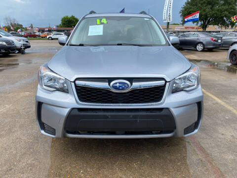 2014 Subaru Forester for sale at SOUTHWAY MOTORS in Houston TX