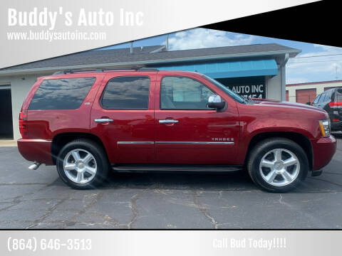 2009 Chevrolet Tahoe for sale at Buddy's Auto Inc in Pendleton, SC