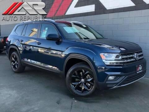 2018 Volkswagen Atlas for sale at Auto Republic Fullerton in Fullerton CA