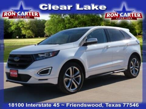 2018 Ford Edge for sale at Ron Carter  Clear Lake Used Cars in Houston TX