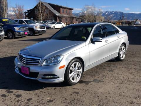 2013 Mercedes-Benz C-Class for sale at Snyder Motors Inc in Bozeman MT