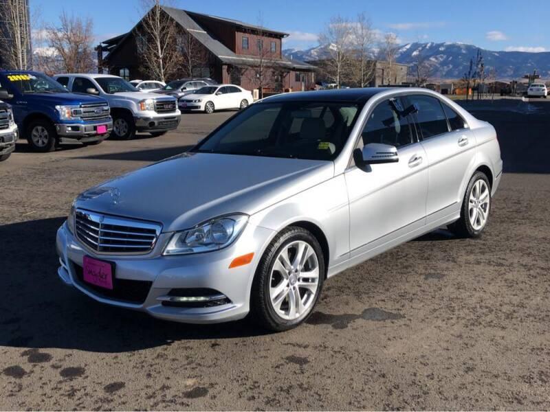 2013 Mercedes-Benz C-Class for sale at Snyder Motors Inc in Bozeman MT