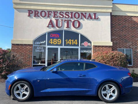 2019 Chevrolet Camaro for sale at Professional Auto Sales & Service in Fort Wayne IN