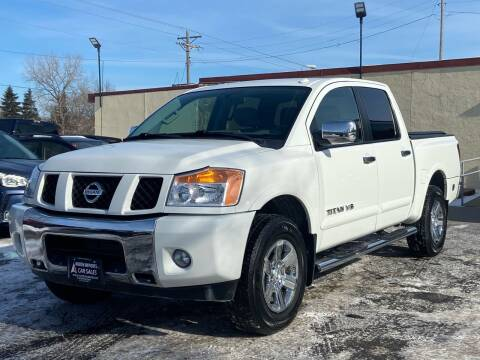 2015 Nissan Titan for sale at North Imports LLC in Burnsville MN