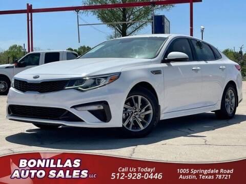 2019 Kia Optima for sale at Bonillas Auto Sales in Austin TX
