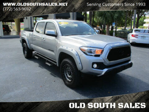 2017 Toyota Tacoma for sale at OLD SOUTH SALES in Vero Beach FL