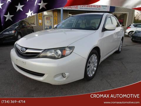 2011 Subaru Impreza for sale at Cromax Automotive in Ann Arbor MI