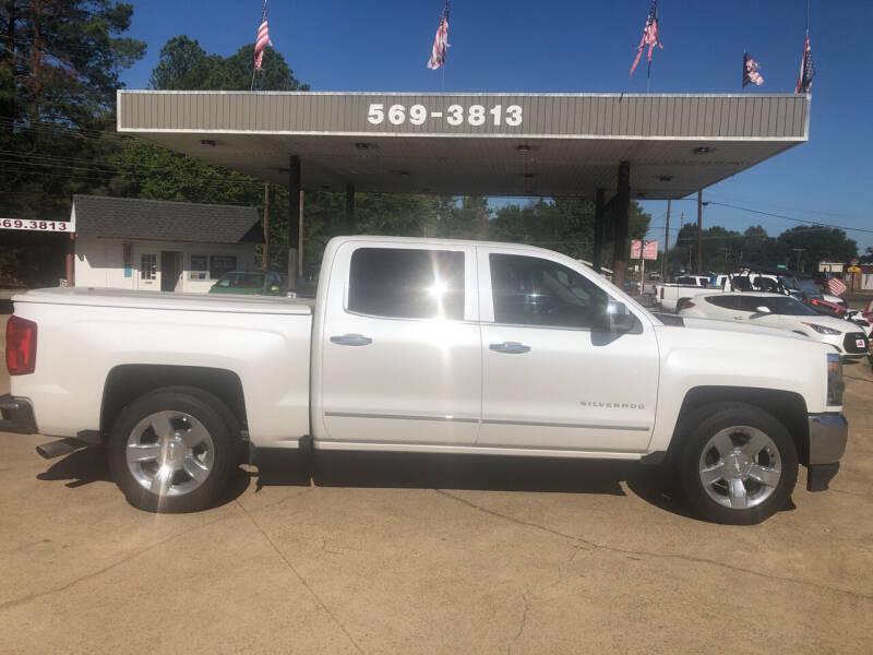 2016 Chevrolet Silverado 1500 for sale at BOB SMITH AUTO SALES in Mineola TX