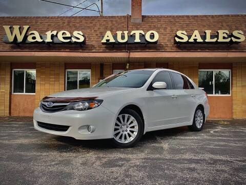 2010 Subaru Impreza for sale at Wares Auto Sales INC in Traverse City MI